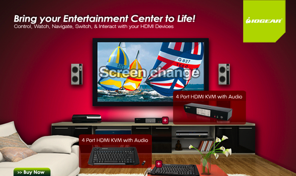 Great 4 HDMI Devices  U003e One HDTV, Keyboard U0026 Mouse U003d The Ultimate Living Room