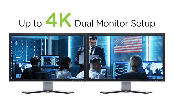 IOGEAR - GCS1324TAA3 - 4-Port Dual View HDMI Secure KVM