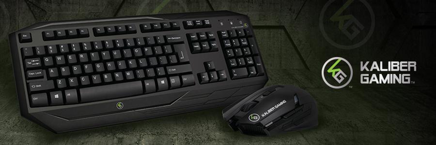 IOGEAR - GKM602R - Kaliber Gaming™ Wireless Gaming Keyboard and