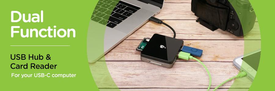 Aijin USB 3.1 Type C Card Reader USB-C TF Micro SD OTG Adapter Type-C Memory Card Reader for PC /& Laptop /& Smart Phones /& Tablets 2Pcs