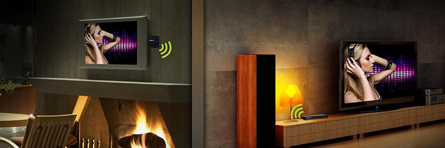 wireless hdmi extender 3d 1080p home