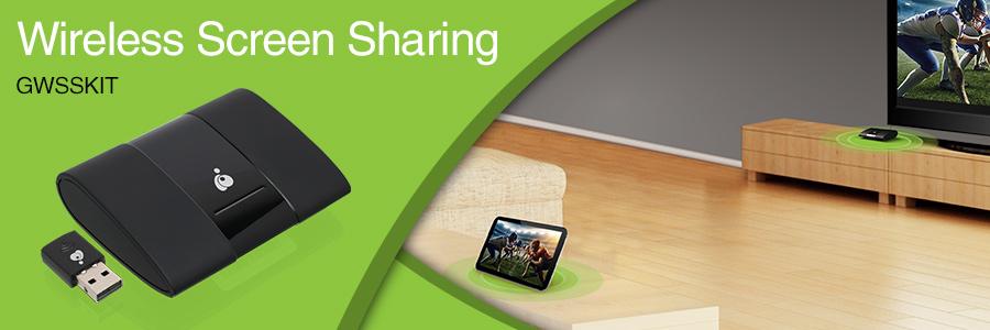 IOGEAR - GWSSKIT - Wireless Screen Sharing and Miracast