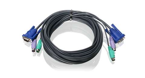 16ft (5m) PS/2 VGA KVM Cable