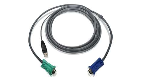 USB KVM Cable 10 Ft