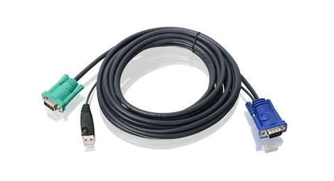 USB KVM Cable 16 Ft