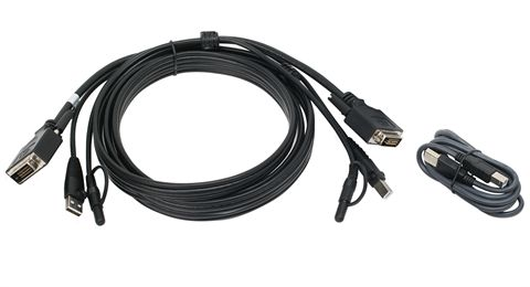 10 Ft. DVI, USB KVM Cable Kit with Audio (TAA)