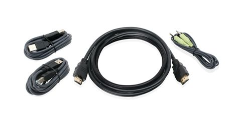 6ft HDMI, USB KVM Cable Kit with Audio (TAA)