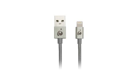 Charge & Sync Flip™ Pro+ - Reversible USB to Lightning Cable, 3.3ft (1m) - Space Gray