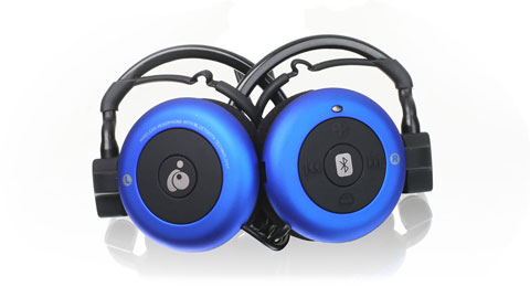 Bluetooth® Wireless Stereo Headphones w/ built-in mic
