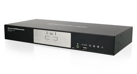 2-Port Dual-Link DVI Secure KVM Switch (TAA)