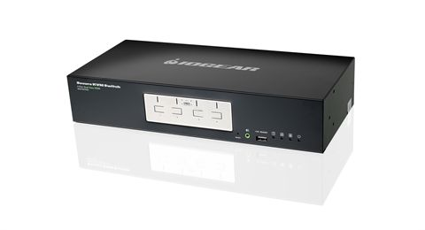 4-Port Dual View HDMI Secure KVM Switch (TAA)