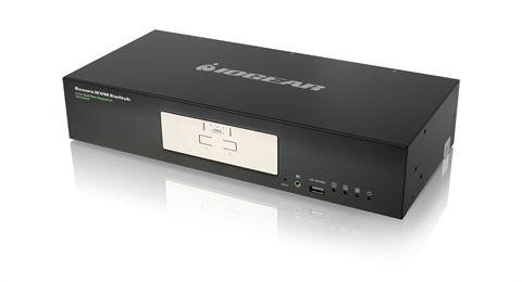 2-Port Dual View DisplayPort Secure KVM Switch (TAA)
