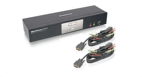 2-Port Dual-Link DVI KVMP Pro with 7.1 Audio (TAA Compliant)