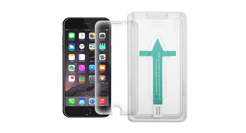 GearGuard - iPhone 7 Plus Shatterproof Screen Protector 2 Pack with Instant Align Tool