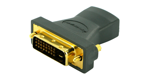 Gold-plated Digital Video Adapter