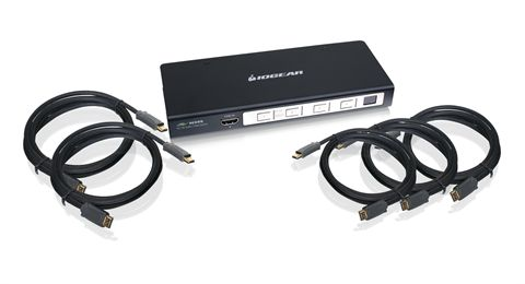 4-Port Home Entertainment Starter Kit, 4 HDMI Inputs - 1 HDMI Output