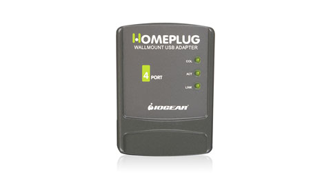 Homeplug Wall mount USB Adapter
