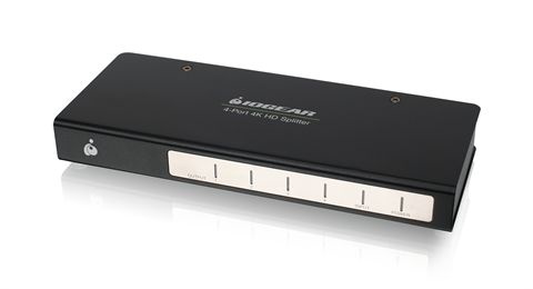 4-Port Cinema 4K Splitter with HDMI connectors