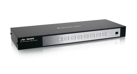 8-Port HD Switch with RS-232 Support