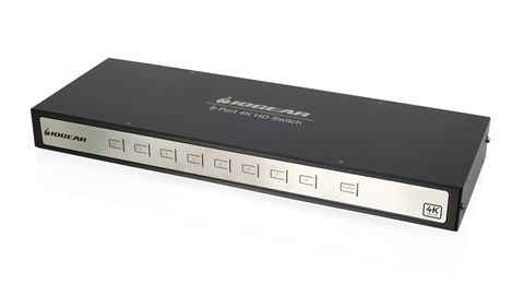 True 4K 8-Port Switcher with HDMI connection (TAA Compliant)
