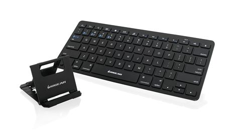Slim Multi-Link Bluetooth Keyboard with Stand