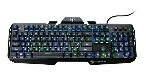 HVER RGB Aluminum Gaming Keyboard