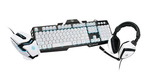 Kaliber Gaming Imperial White Edition Gamer Pack