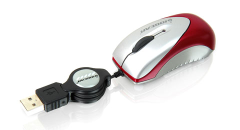 USB Optical Mini Mouse, 800 dpi