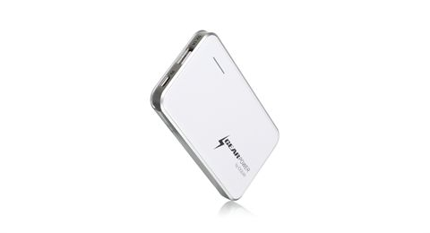 GearPower 2400mAh Capacity Mobile Power Station for Smartphones and USB devices