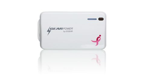GearPower Mobile Power Station 4400 for Smartphones and Tablets (Susan G. Komen Edition)