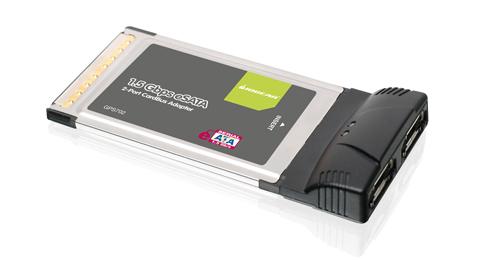 2-Port eSATA 1.5Gbps CardBus card