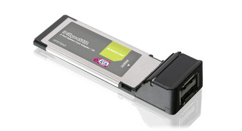 2-Port eSATA 3Gbps ExpressCard/34
