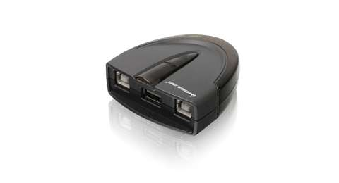 2-Port USB 2.0 Automatic Printer Switch
