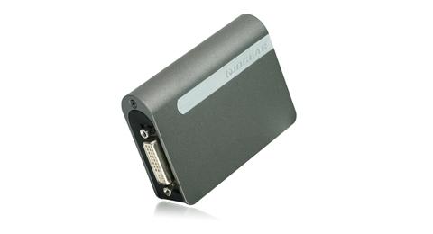 USB 2.0 External DVI Video Card