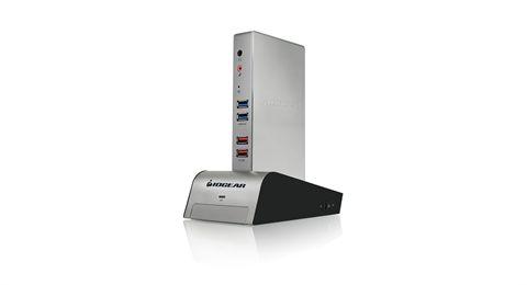 met(AL)™ Vault Dock, USB 3.0 Docking Station with built-in Backup Drive Enclosure
