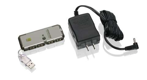 4-Port USB 2.0 MicroHub™