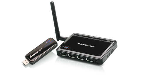 Wireless USB Hub and Adapter