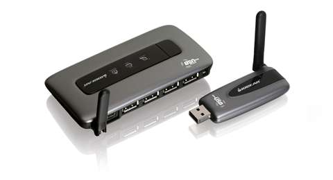 Wireless USB Hub and Adapter Kit