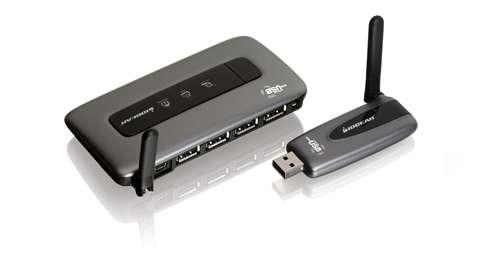 Wireless USB Hub and Adapter Kit