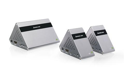 Ultra-Fast 60GHz Wireless 4K UHD Transmitter & Receiver Kit for 2 TVs