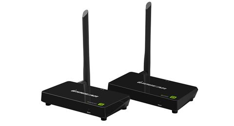 Wireless 4K @ 30Hz Video Extender with Local Pass-through