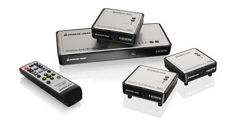 Long-Range Wireless Video 5x2 Matrix PRO with 3 Receivers