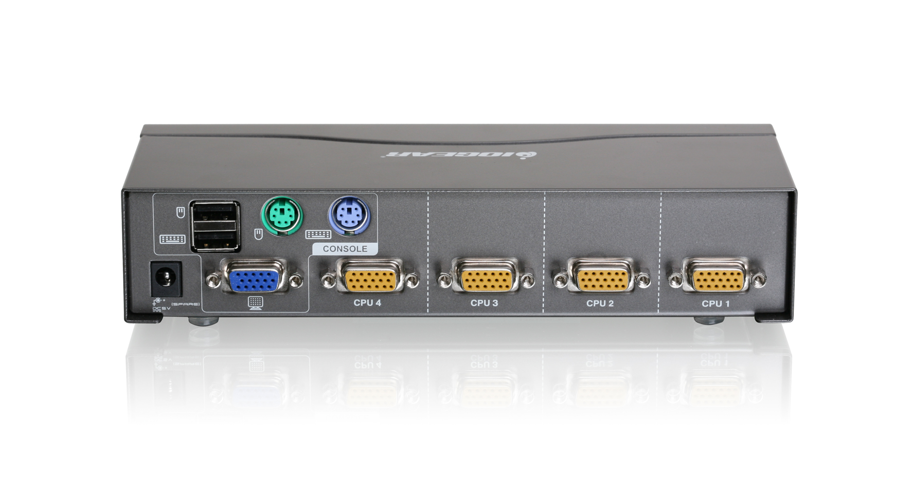 Iogear Gcs1724 4 Port Vga Kvm Switch Ps2 And Usb To Schematic
