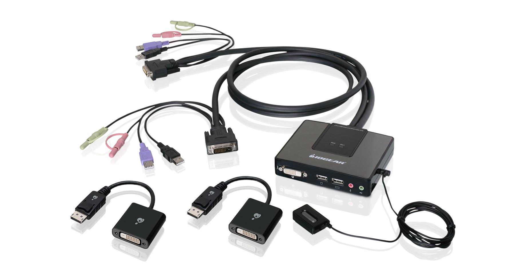 IOGEAR GCSDPKIT Port DualLink DVI And DisplayPort Cable - Port dvi