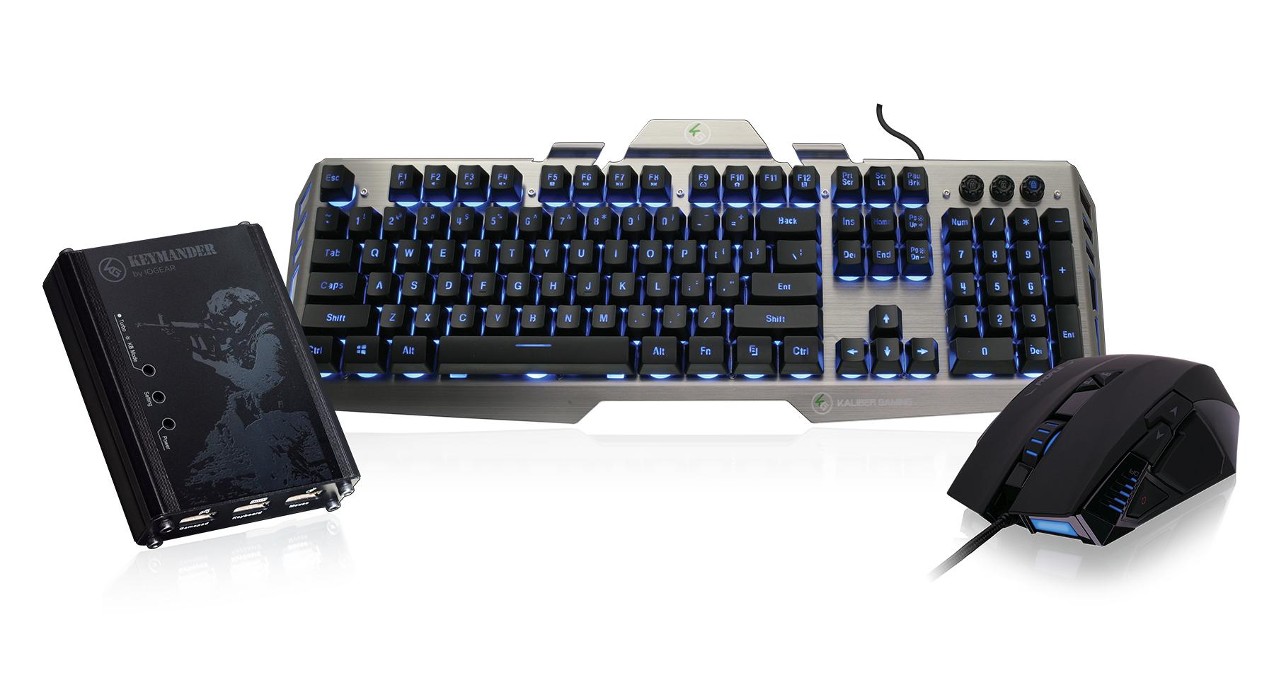 IOGEAR - GE1337PKIT2 - KeyMander Performance Keyboard