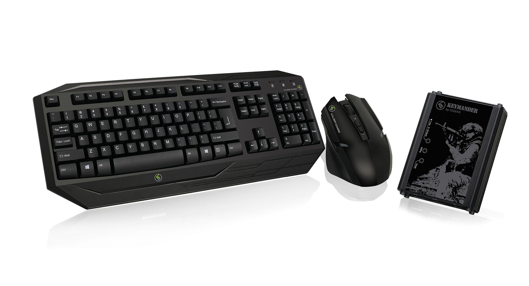 IOGEAR - GE1337PKIT - KeyMander Wireless Keyboard & Mouse Bundle