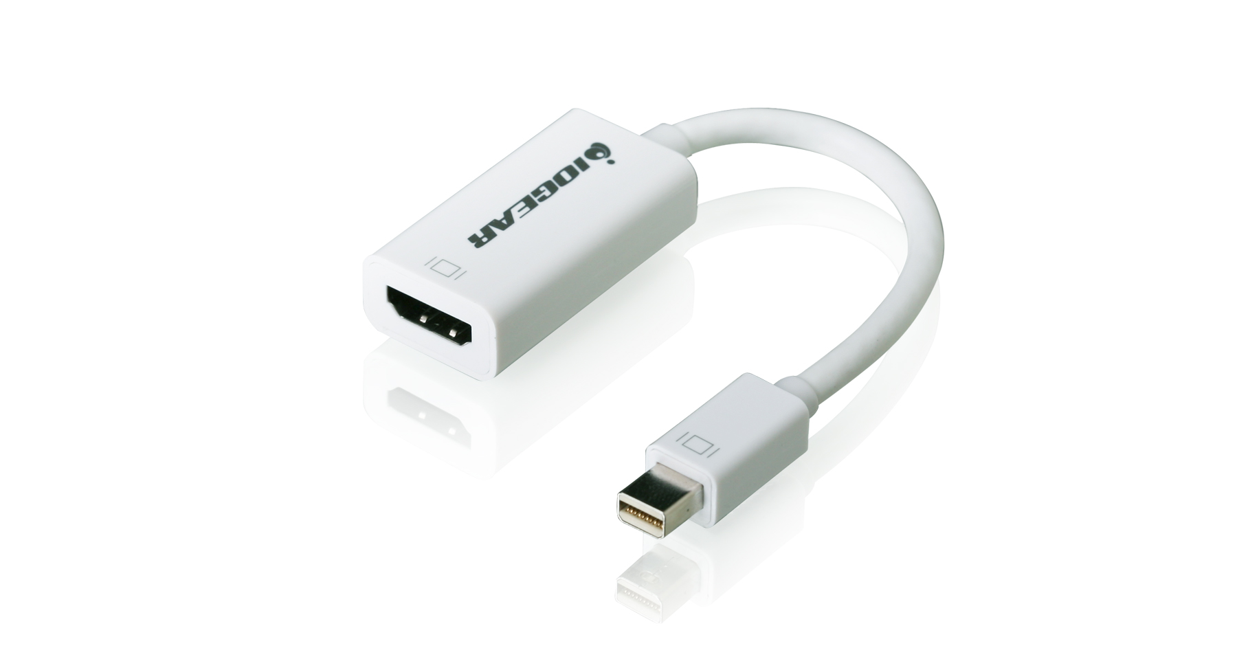 Iogear Gmdphdw6 Mini Displayport To Hdmi Adapter Cable