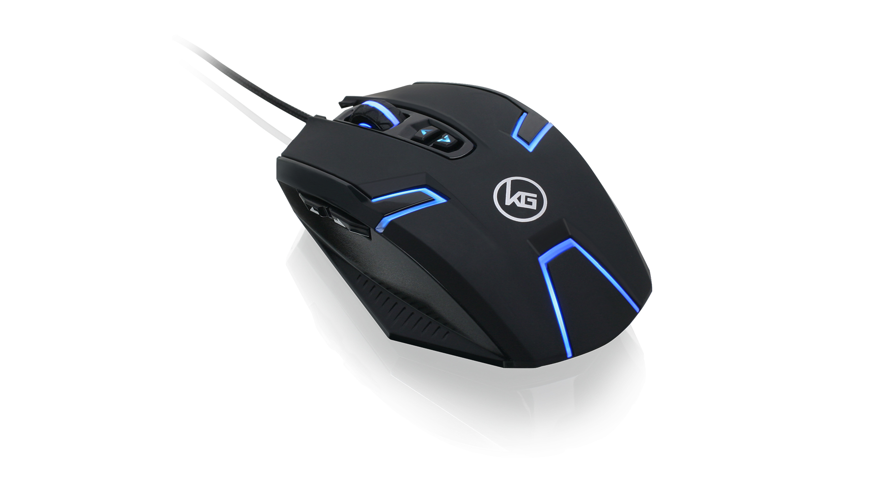 Kaliber GamingTM SYMMETRE Ambidextrous Gaming Mouse