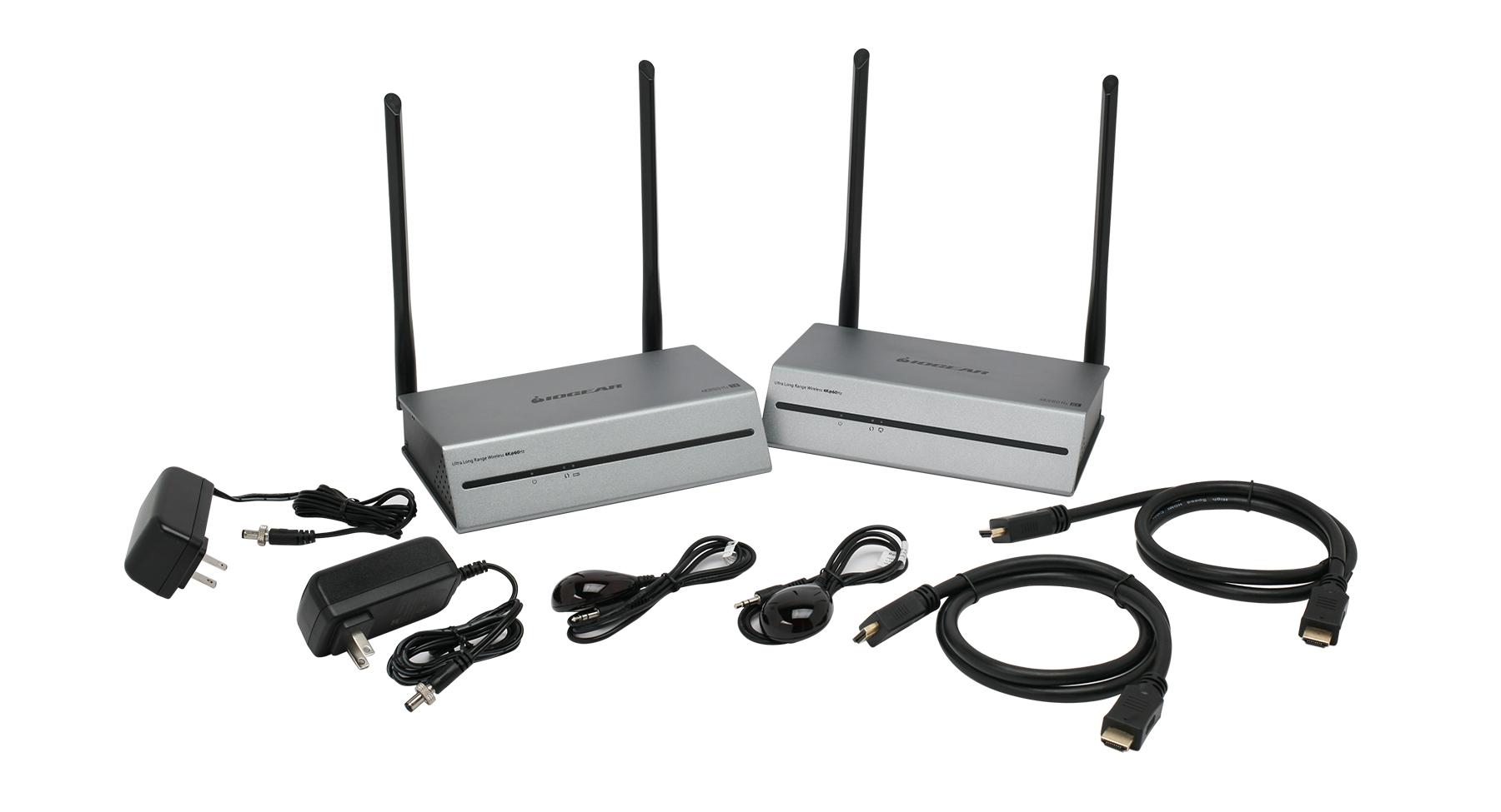 IOGEAR Ultra Long-Range Wrls 4K 60Hz Video Extender Receiver