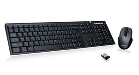 Long Range 2.4 GHz Wireless Keyboard and Mouse Combo